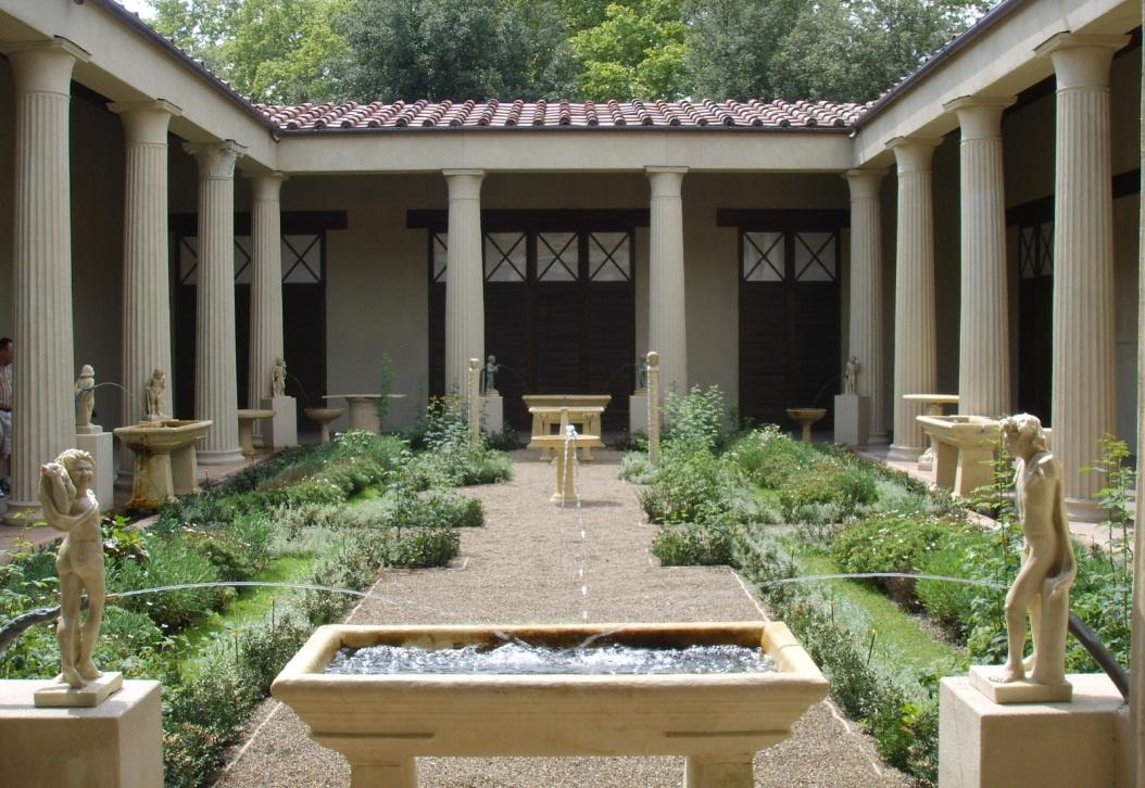 Klimmen Krijgt Romeinse Tuin L1