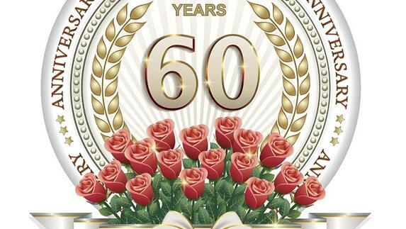 60 jarig jubileum diamant Burgemeester Jos Hessels van Echt Susteren wel bij diamanten paren  60 jarig jubileum diamant