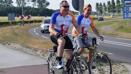 L1NWS: Maasfietsroute officieel geopend