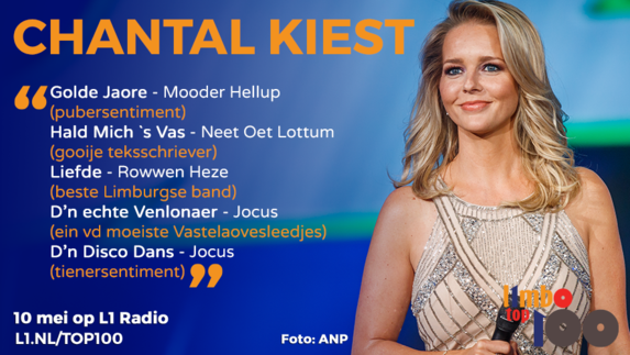 L1mbo Top 100: dit kiest Chantal!