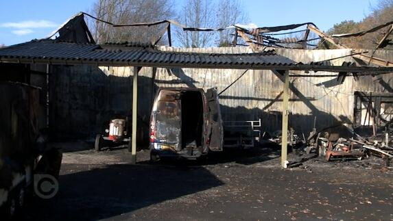 L1mburg Centraal: Grote brand Wanssum