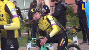 L1mburg Centraal: Mike Teunissen traint in Spanje