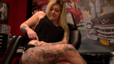 L1mburg Centraal: Venlose met 16 tatoeages is finalist in Miss Tattoo