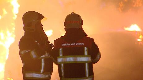Grote brand in Voerendaal