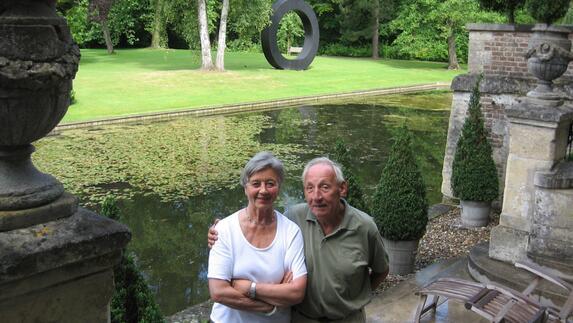 Kunstverzamelaars Marlies en Jo Eijck - 4 juli 2012 - L1