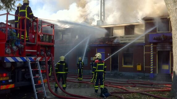 Brand in cafetaria in Venray