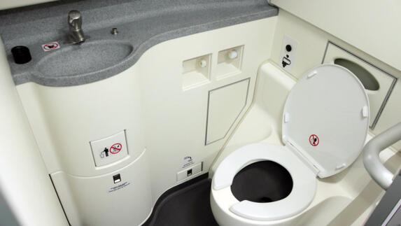 Losplaats chemische toiletten aan a bij nederweert l
