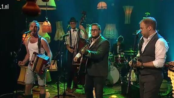 Unplugged met Joep van Wegberg, Harold K en Jick Munro and the Amazing Laserbeams
